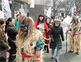 #なまはげ2匹が東京表参道に現る・全国特産品PR、フェステバル.jpg