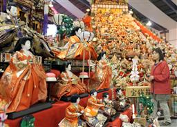 ビッグなひなまつりで3万体の人形・徳島勝浦町人形文化交流館.jpg